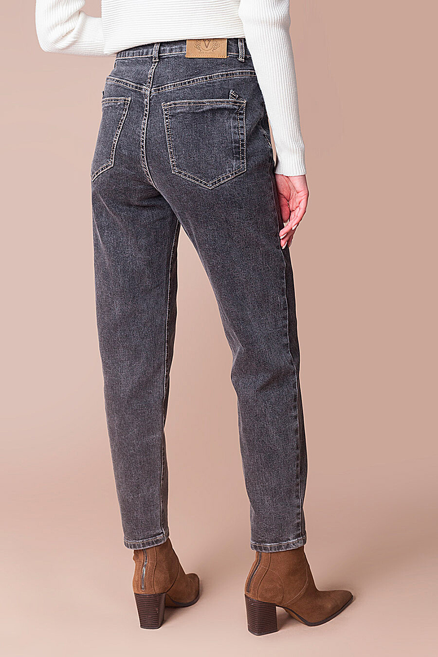 Джинсы для женщин VILATTE 707532 купить оптом от производителя. Совместная покупка женской одежды в OptMoyo