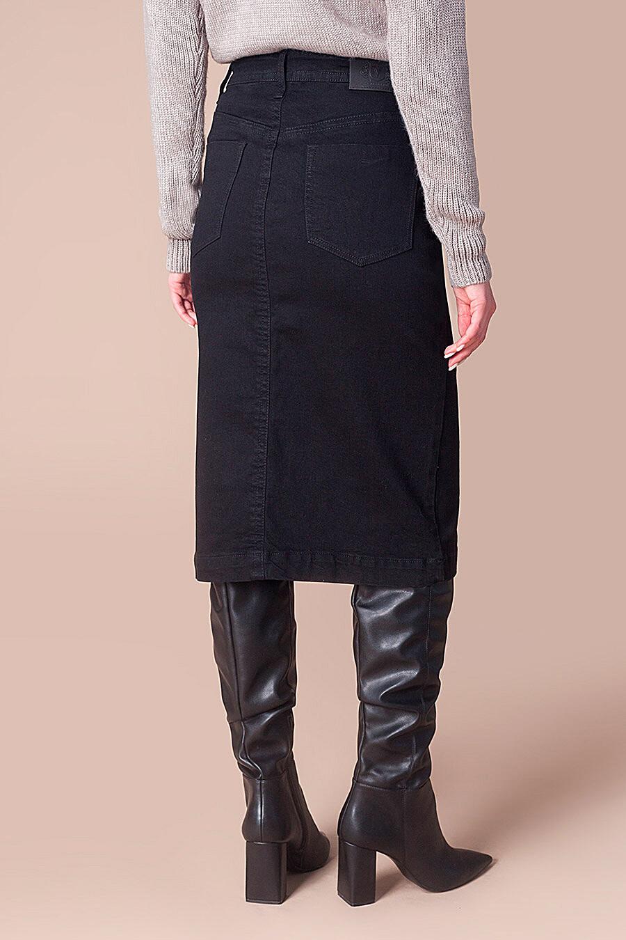 Юбка для женщин VILATTE 707535 купить оптом от производителя. Совместная покупка женской одежды в OptMoyo