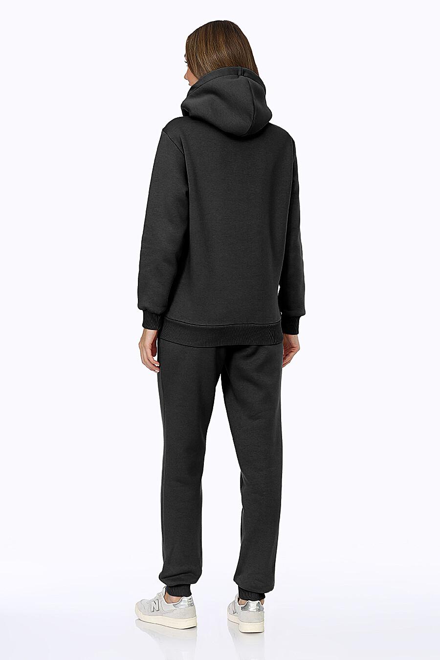 Костюм (Брюки+Худи) для женщин EZANNA 707989 купить оптом от производителя. Совместная покупка женской одежды в OptMoyo