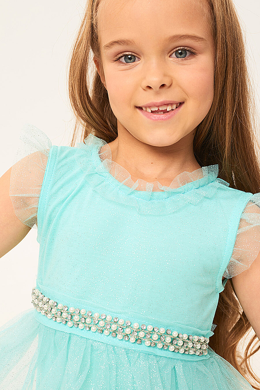 Платье для девочек IN FUNT 708018 купить оптом от производителя. Совместная покупка детской одежды в OptMoyo