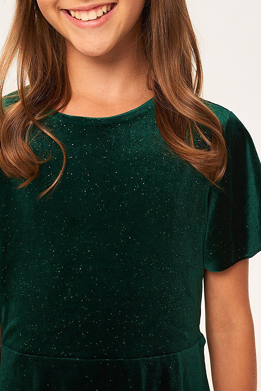 Платье для девочек IN FUNT 708021 купить оптом от производителя. Совместная покупка детской одежды в OptMoyo