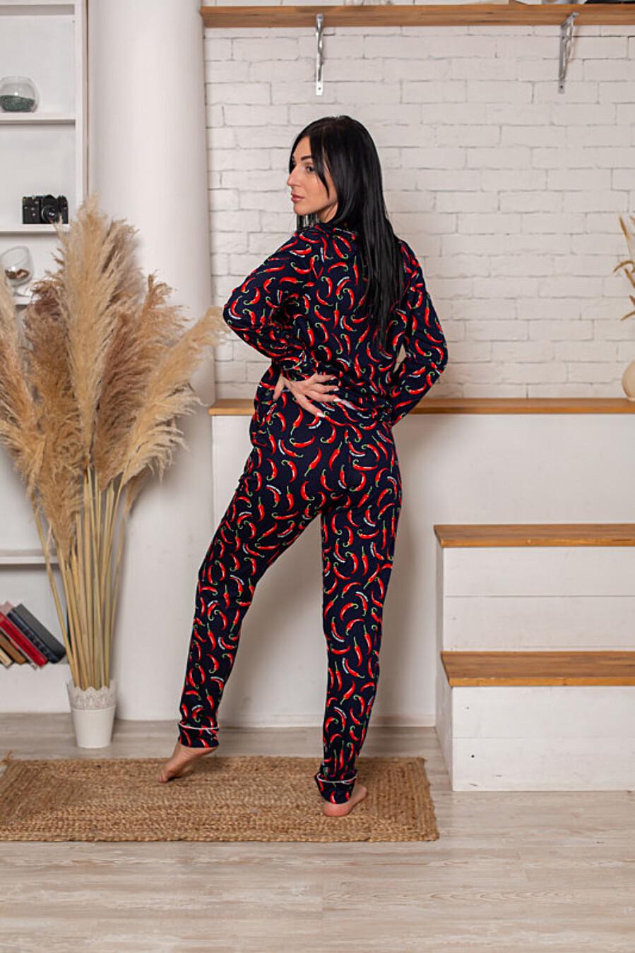 Костюм (рубашка+брюки) для женщин SOFIYA37 708054 купить оптом от производителя. Совместная покупка женской одежды в OptMoyo