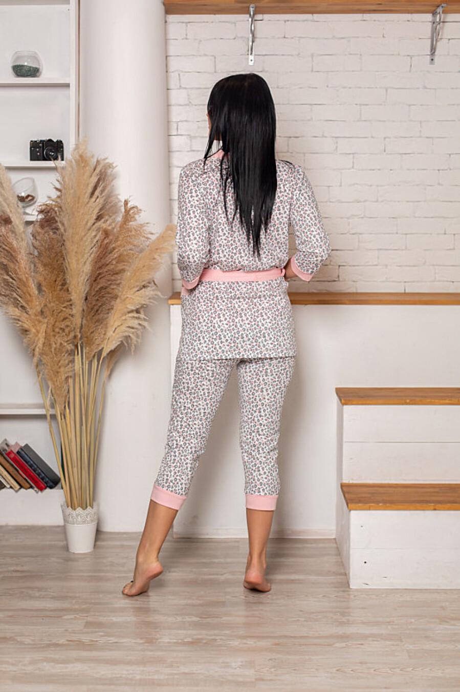 Пеньюар (халат+топ+бриджи) для женщин SOFIYA37 708061 купить оптом от производителя. Совместная покупка женской одежды в OptMoyo