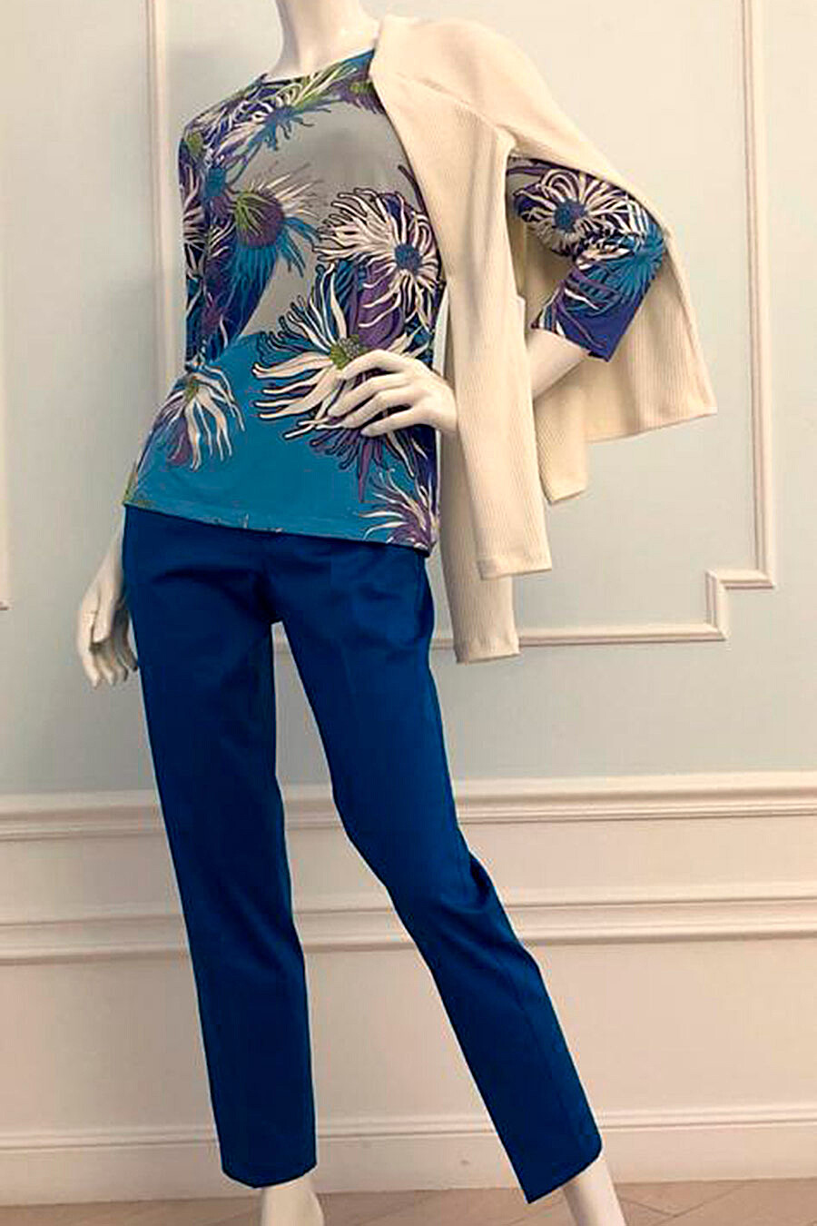 Брюки для женщин VEMINA 708195 купить оптом от производителя. Совместная покупка женской одежды в OptMoyo