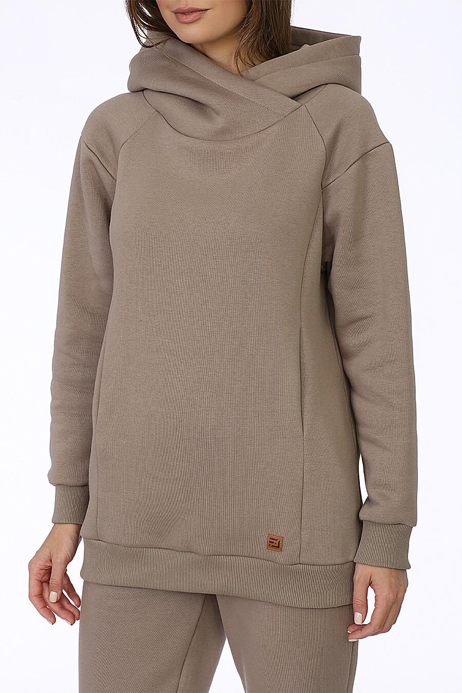 Худи для женщин EZANNA 708512 купить оптом от производителя. Совместная покупка женской одежды в OptMoyo