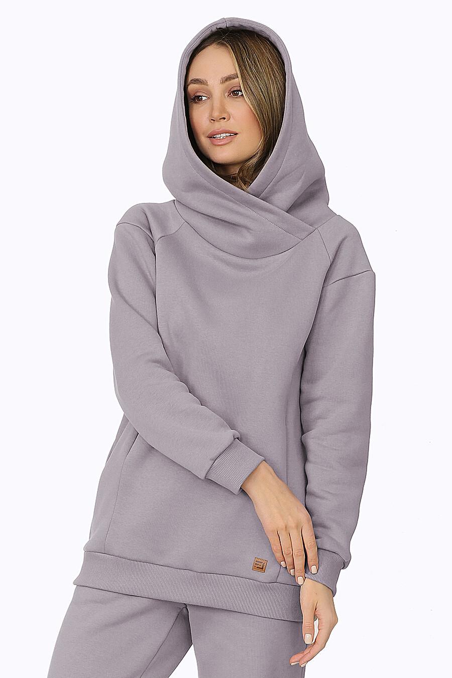 Костюм (Брюки+Худи) для женщин EZANNA 708533 купить оптом от производителя. Совместная покупка женской одежды в OptMoyo