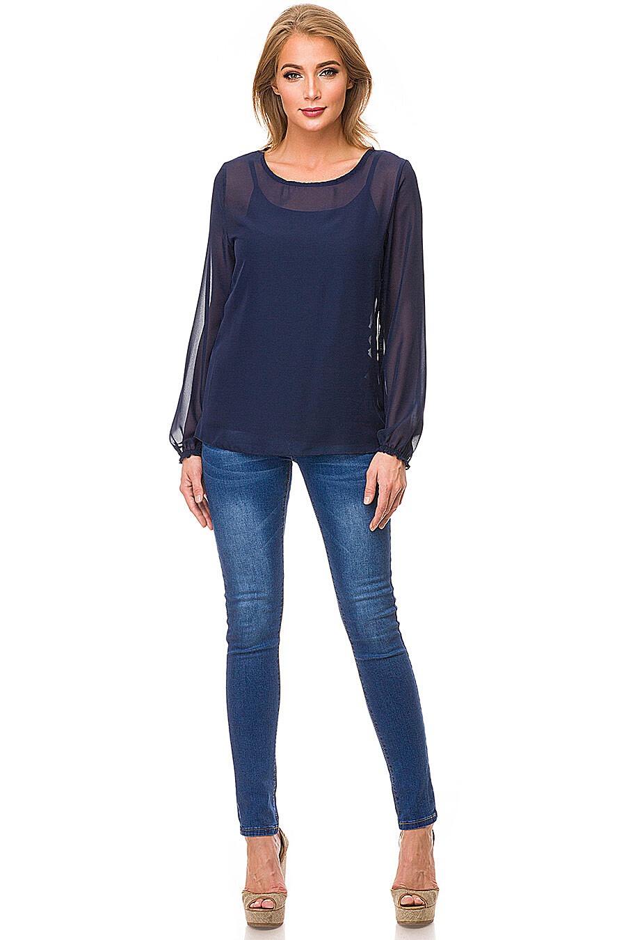 Комплект (Блуза + Топ) #87138