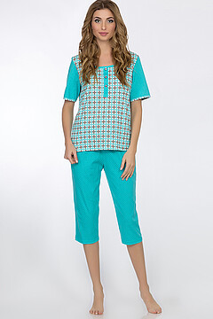 Пижама (блуза+бриджи)
