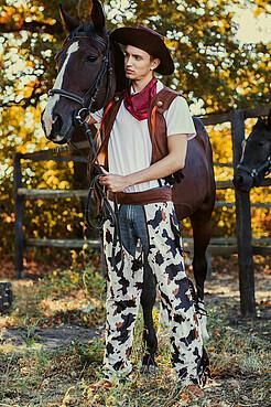 Костюм  ковбоя, техасского рейнджера, бандита Дикого Запада LA MASCARADE