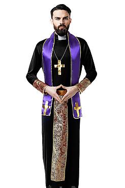 Костюм священника КРАСНАЯ ЖАРА