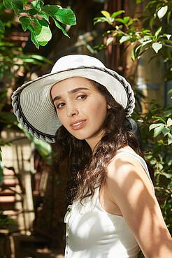 Плетеная шляпка Каникулы в Рио в винтажном стиле Nothing But Love
