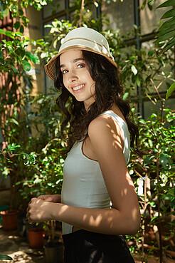 Плетеная шляпка Теплые Пески Бора Бора в винтажном стиле Nothing But Love