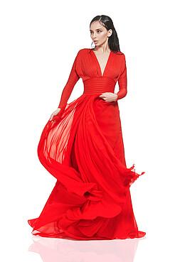 Вечернее платье Танцующая в темноте MERSADA