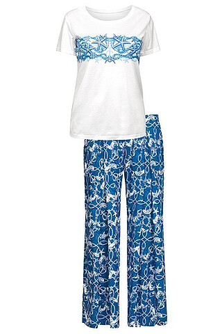 Пижама (Брюки+Футболка) PELICAN