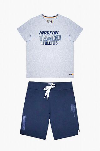 Пижама (футболка + шорты) INDEFINI