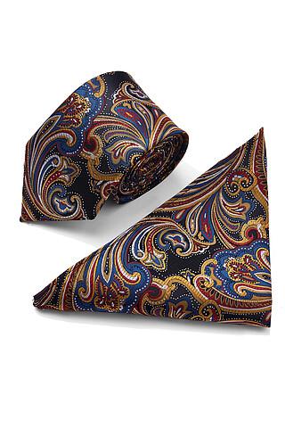 Комплект: галстук и платок-паше SIGNATURE