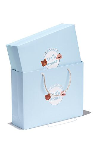 Подарочная коробка в пакете Nothing Shop