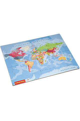 Карта мира BONDIBON