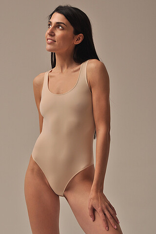 MY Боди женское BO283 BODY SPALLA LARGA (1/68) (nudo (бежевый) MY