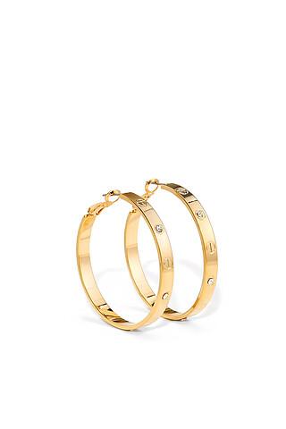 Серьги кольца Полночь в Париже, 4,5 см Nothing But Love