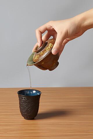 """Пиала-чашка 130 мл """"Коготь дракона"""" Nothing Shop"""