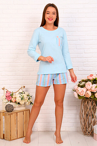 Пижама (Шорты+Джемпер) СОФИЯ37