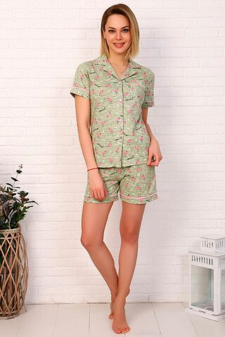 Пижама (Шорты+Кофта) СОФИЯ37