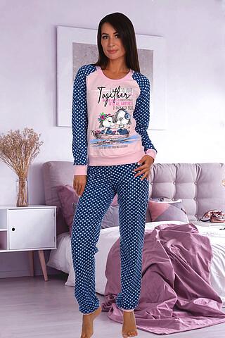 Пижама 184 футер НАТАЛИ