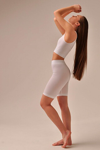 MIREY леггинсы PA704 SHORT LEGGINGS (1/68) (bianco (белый) MY