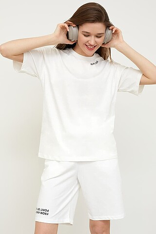 Комплект женский (футболка, шорты) MARK FORMELLE