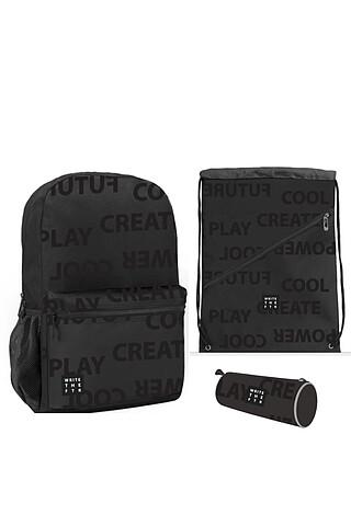 Комплект (рюкзак+пенал+сумка для обуви) PLAYTODAY