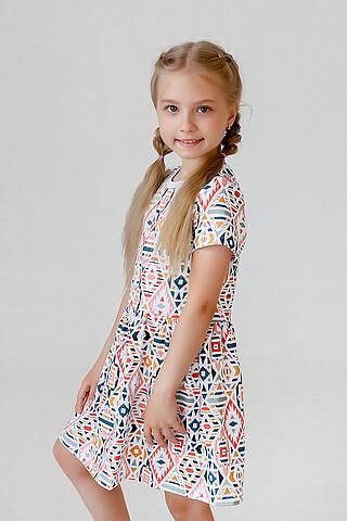 Платье Лето ромбы SOVALINA