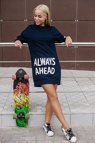 Платье-толстовка ALTEX