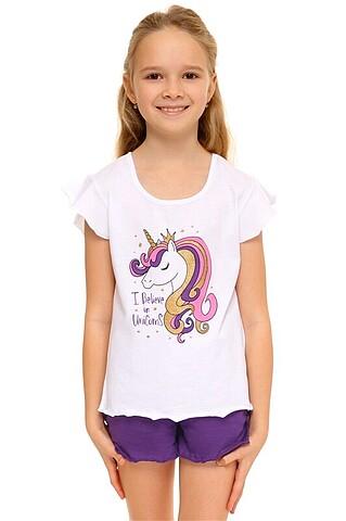 Пижама (футболка+шорты) АПРЕЛЬ