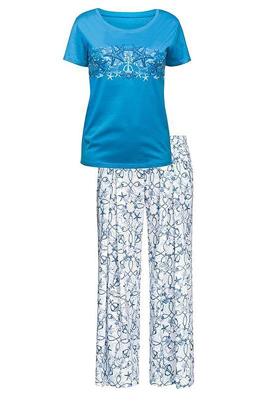 Пижама (Брюки+Футболка) для женщин PELICAN 111432 купить оптом от производителя. Совместная покупка женской одежды в OptMoyo