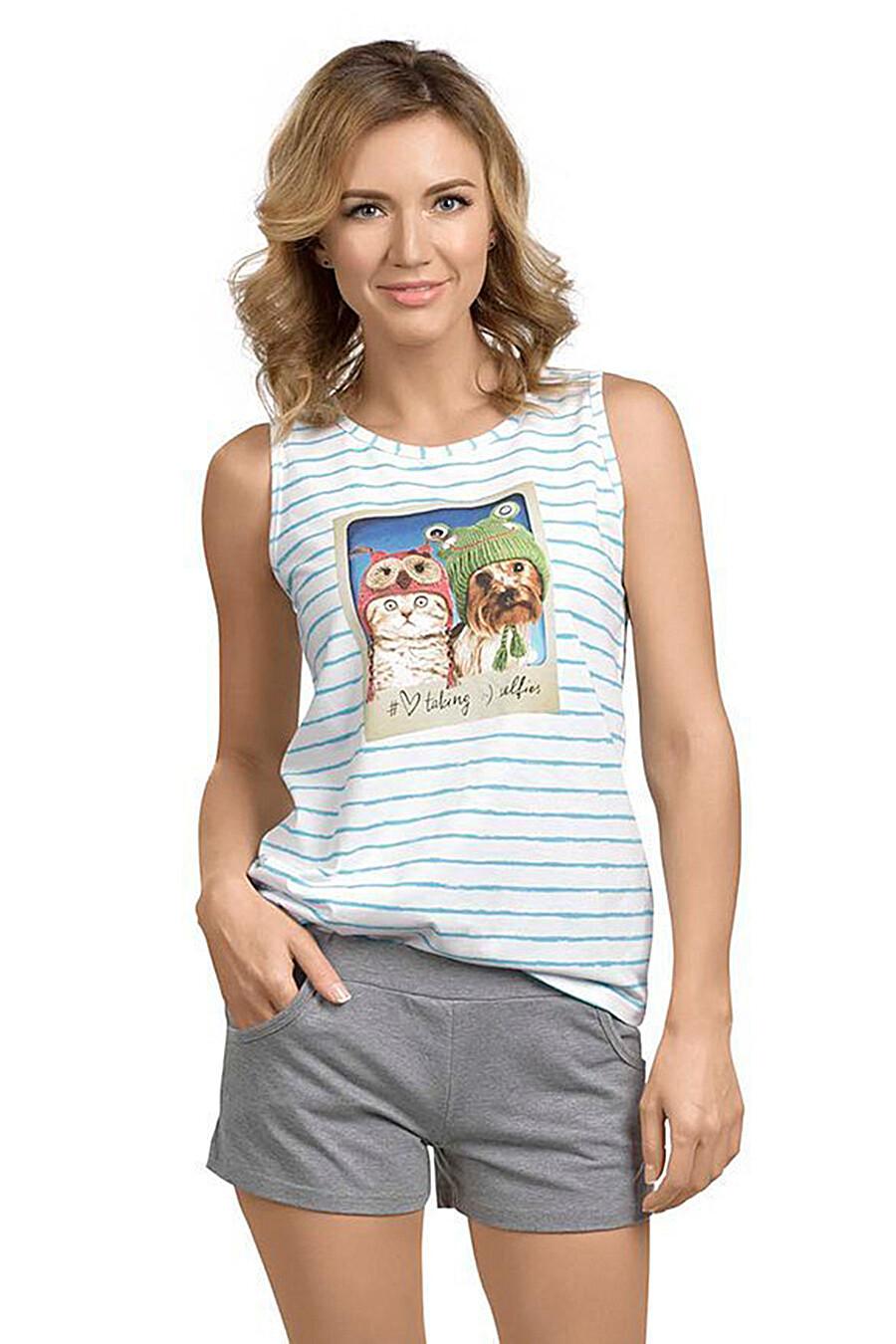 Пижама (Майка+Шорты) #111466