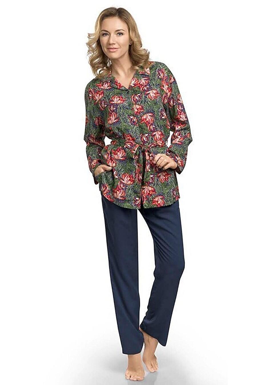 Пижама (Рубашка+Брюки) PELICAN (111497), купить в Optmoyo.ru