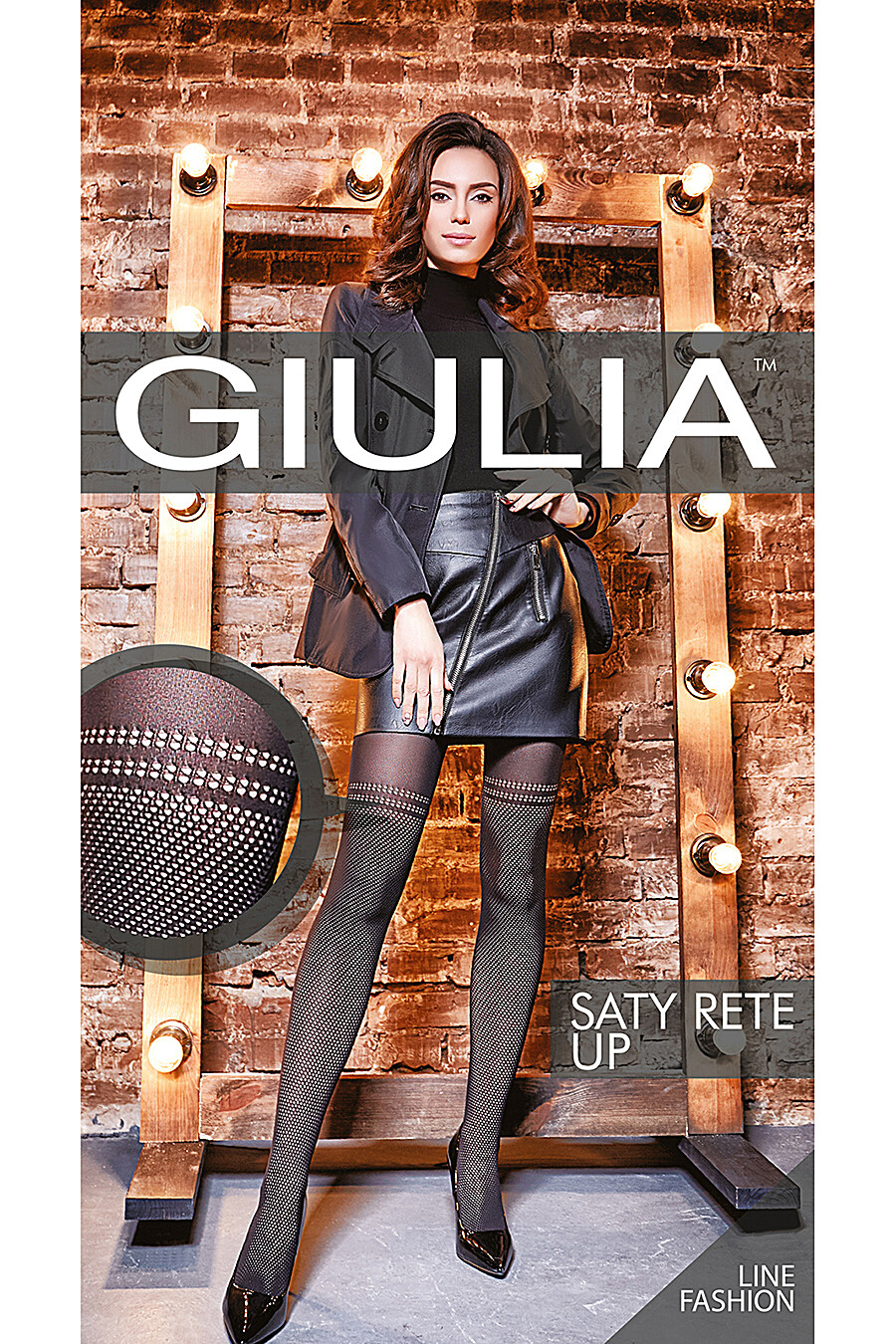 Колготки для женщин GIULIA 116707 купить оптом от производителя. Совместная покупка женской одежды в OptMoyo