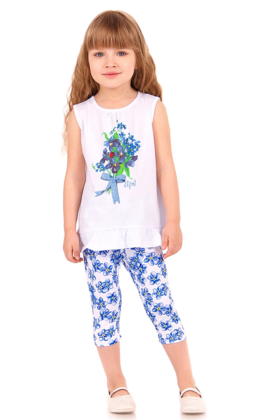 Бриджи для девочек Archi 130693 купить оптом от производителя. Совместная покупка детской одежды в OptMoyo