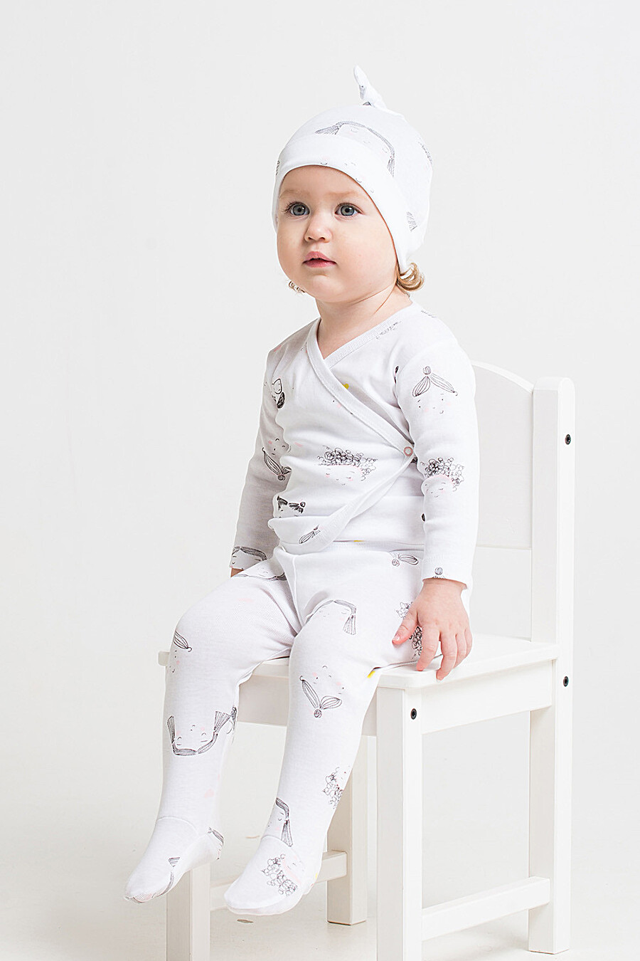 Кофта для девочек CROCKID 130789 купить оптом от производителя. Совместная покупка детской одежды в OptMoyo