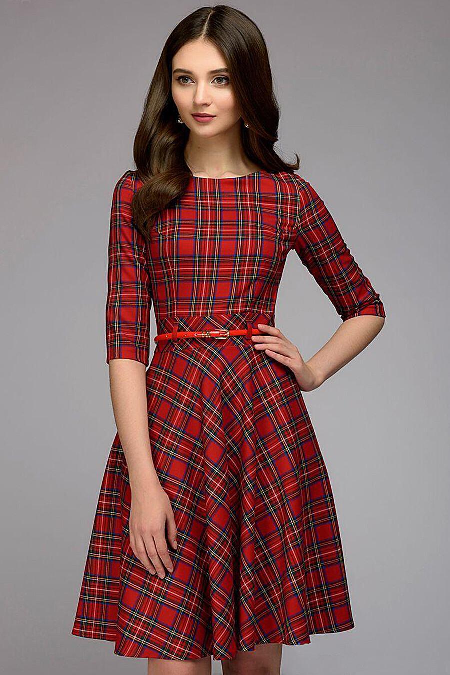 Платье для женщин 1001 DRESS 131170 купить оптом от производителя. Совместная покупка женской одежды в OptMoyo