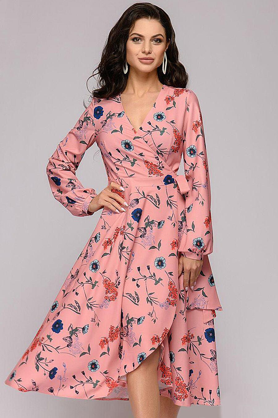 Платье для женщин 1001 DRESS 131243 купить оптом от производителя. Совместная покупка женской одежды в OptMoyo
