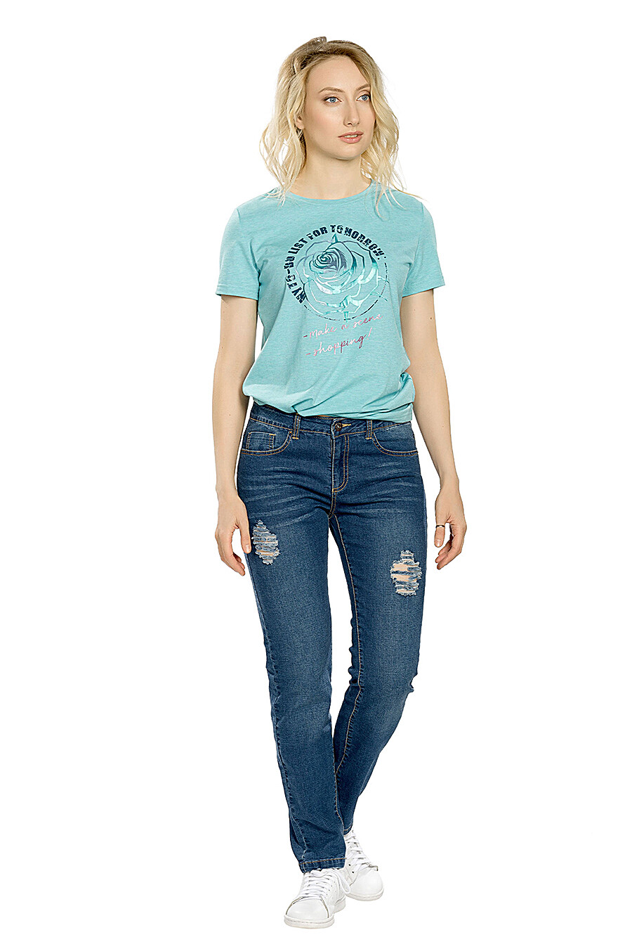 Джинсы для женщин PELICAN 146632 купить оптом от производителя. Совместная покупка женской одежды в OptMoyo