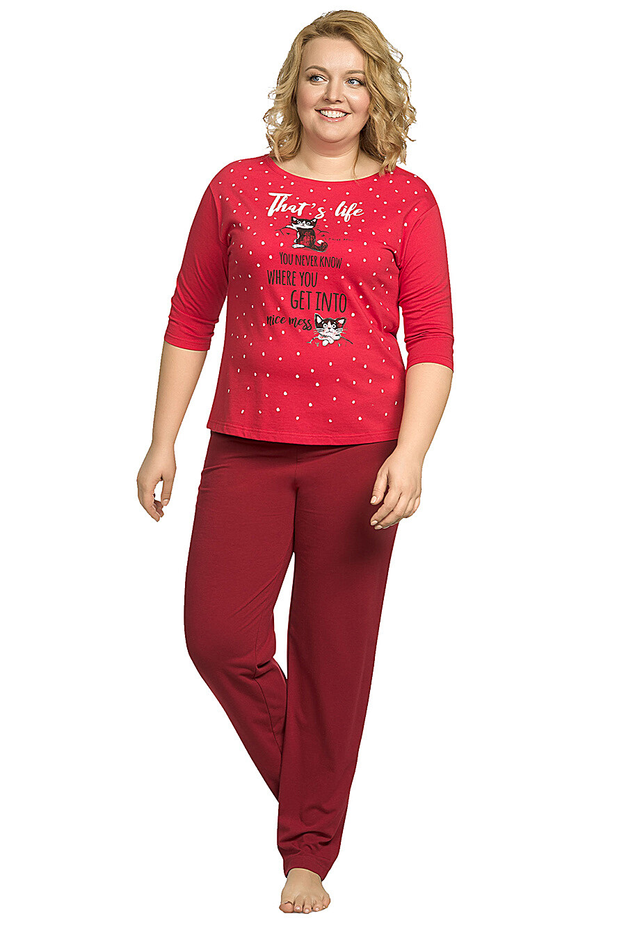 Копмлект (Брюки+Джемпер) для женщин PELICAN 146641 купить оптом от производителя. Совместная покупка женской одежды в OptMoyo