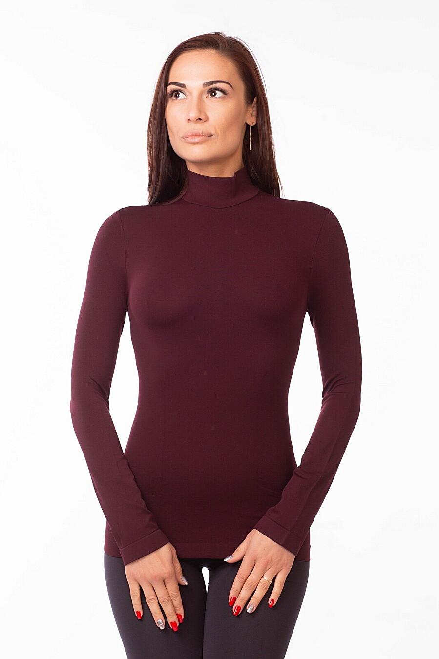Водолазка для женщин GIULIA 146683 купить оптом от производителя. Совместная покупка женской одежды в OptMoyo