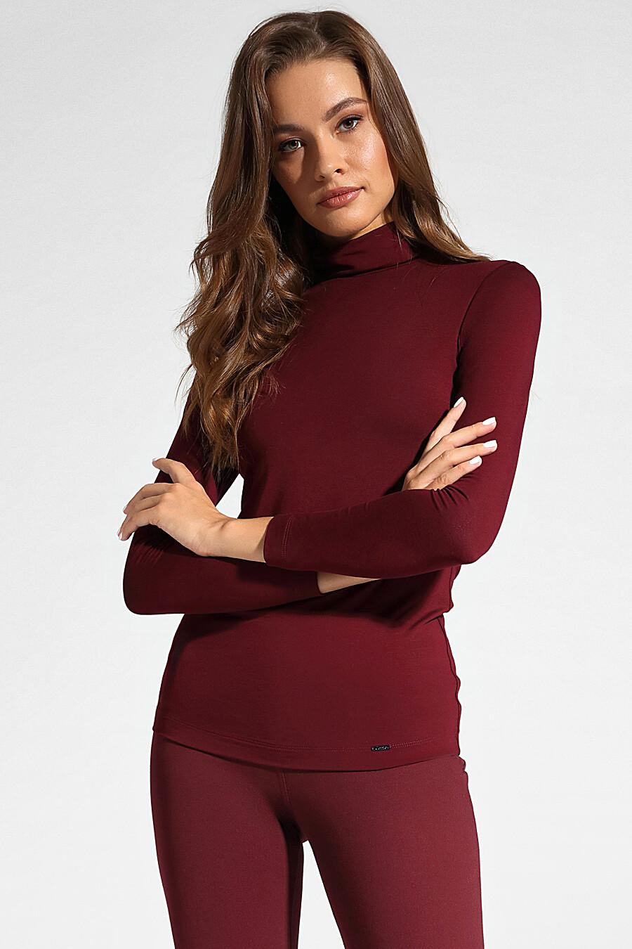 Водолазка для женщин CONTE ELEGANT 148627 купить оптом от производителя. Совместная покупка женской одежды в OptMoyo
