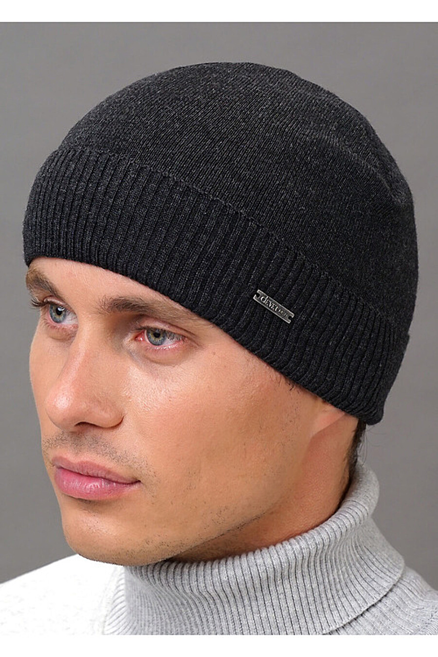Шапка для мужчин CLEVER 155392 купить оптом от производителя. Совместная покупка мужской одежды в OptMoyo
