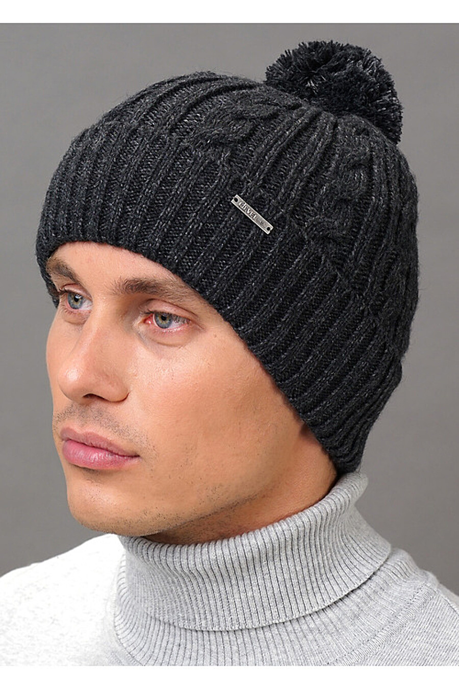 Шапка для мужчин CLEVER 155403 купить оптом от производителя. Совместная покупка мужской одежды в OptMoyo