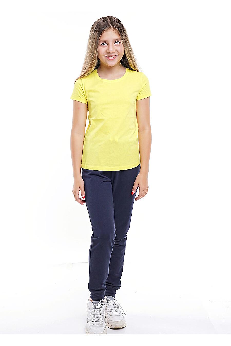 Футболка для девочек CLEVER 155524 купить оптом от производителя. Совместная покупка детской одежды в OptMoyo