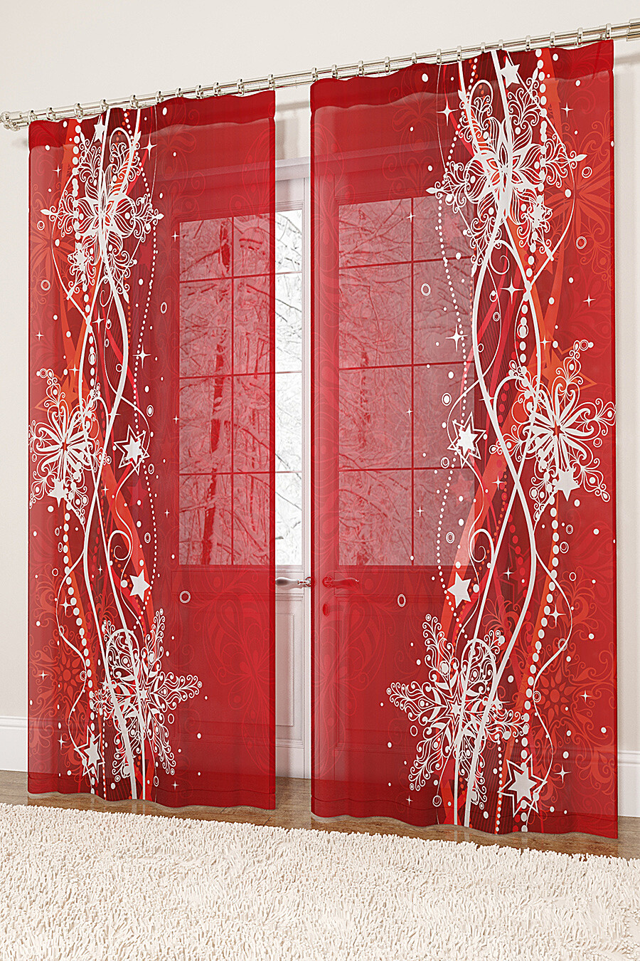 Фототюль для дома ART HOME TEXTILE 155707 купить оптом от производителя. Совместная покупка товаров для дома в OptMoyo